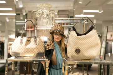 shooting blogger virginia varinelli for gucci