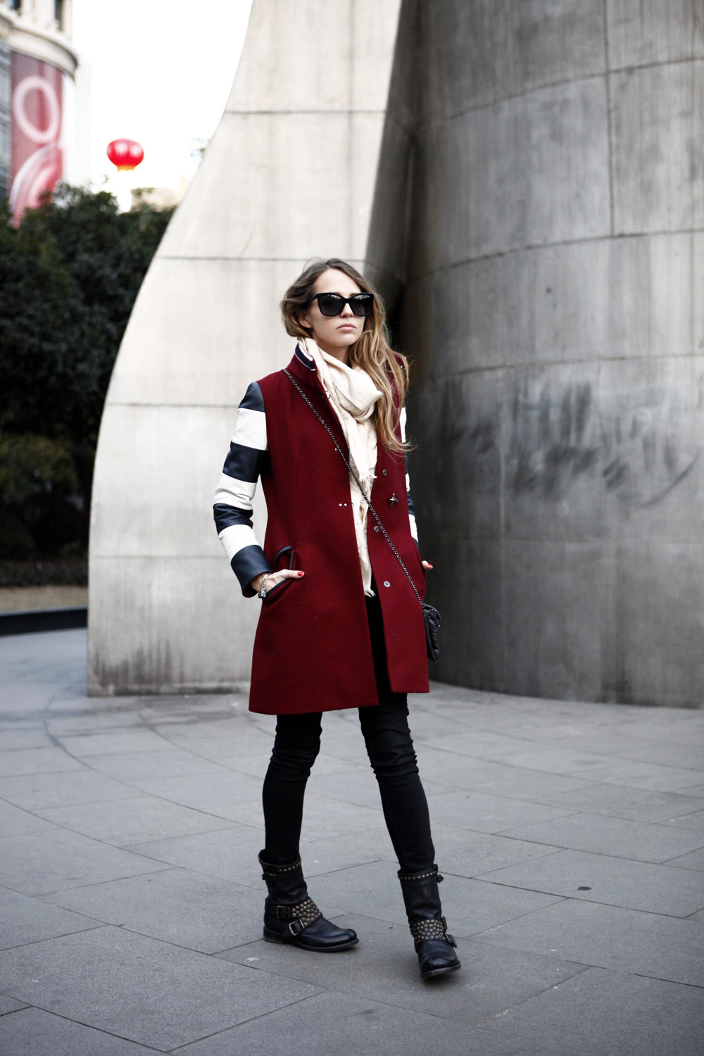 fay coat bordeaux winter 2015