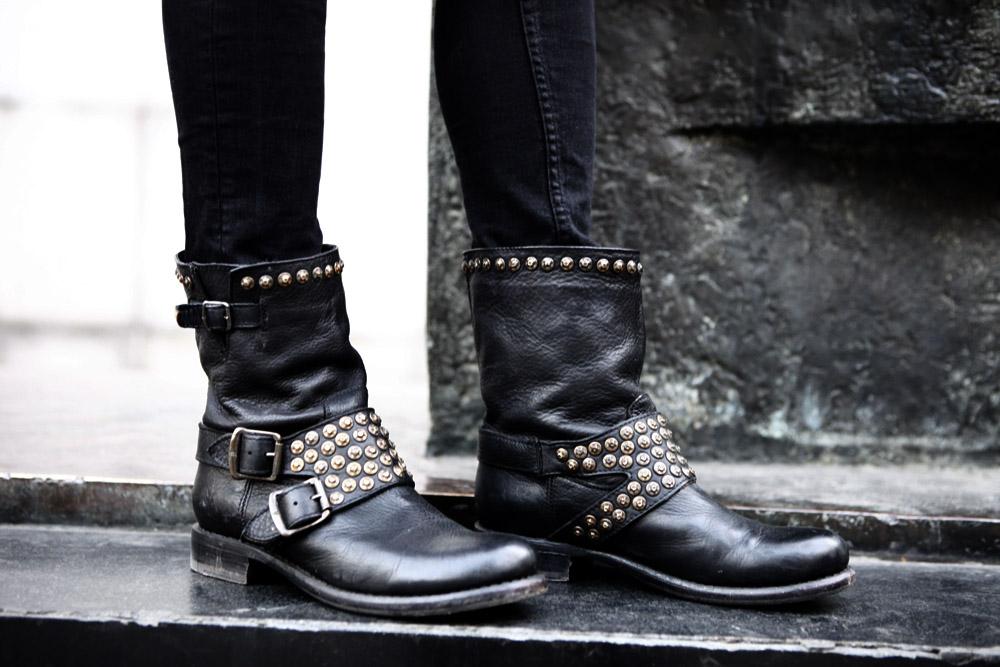 fraye biker boots