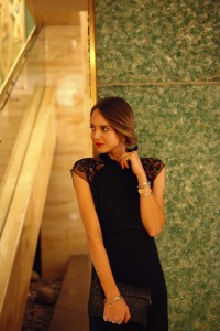 sophisticated outfit for a gala night