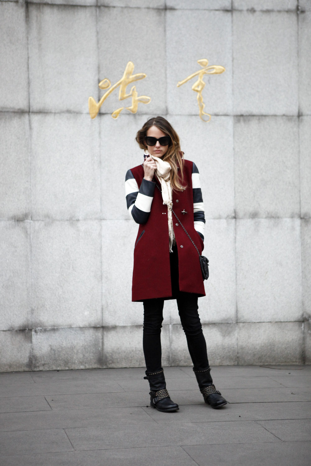 virginia fay coat in shanghai
