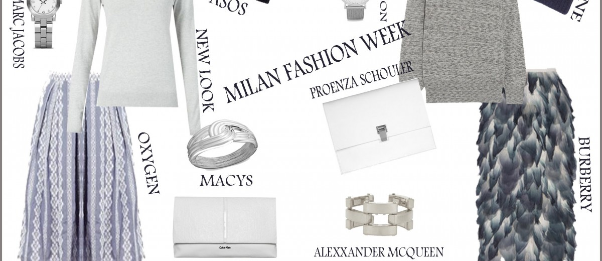 Milan Fashion Show- Get the look