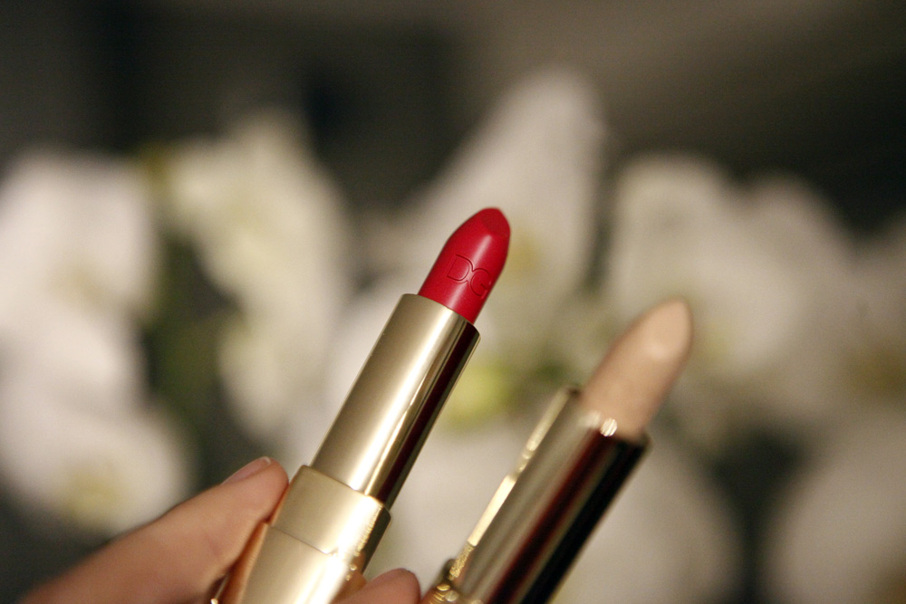 bouganville lipstick dolcegabbana make up