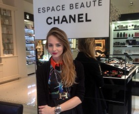espace chanel mirem make up corner