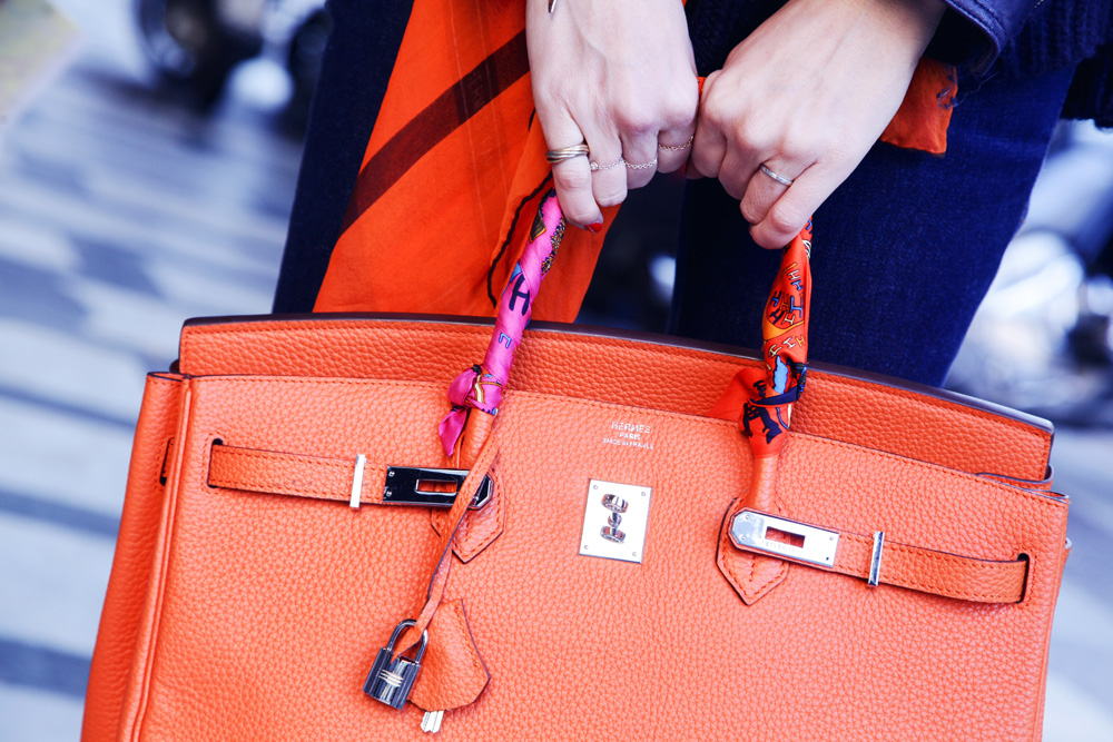 hermes orange birkin