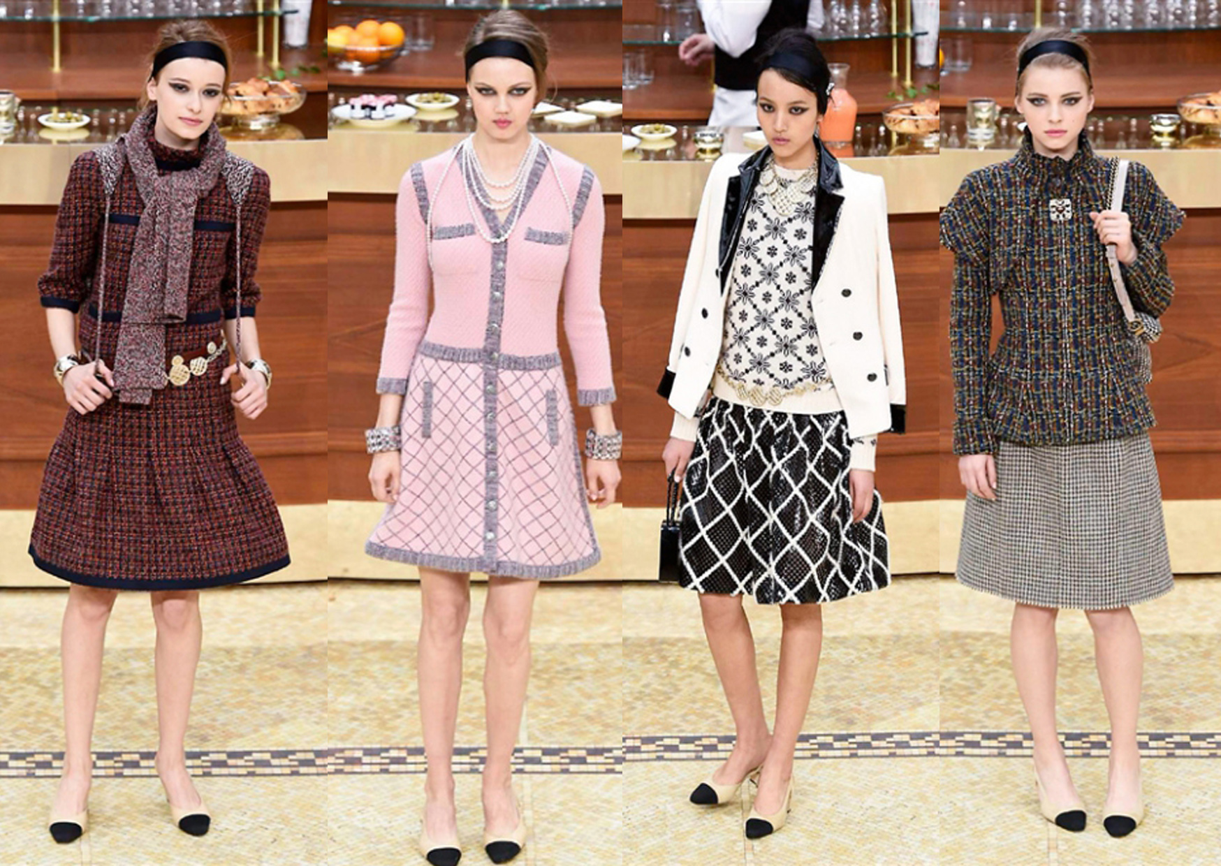 Chanel Fashion Show Fall Winter 2016