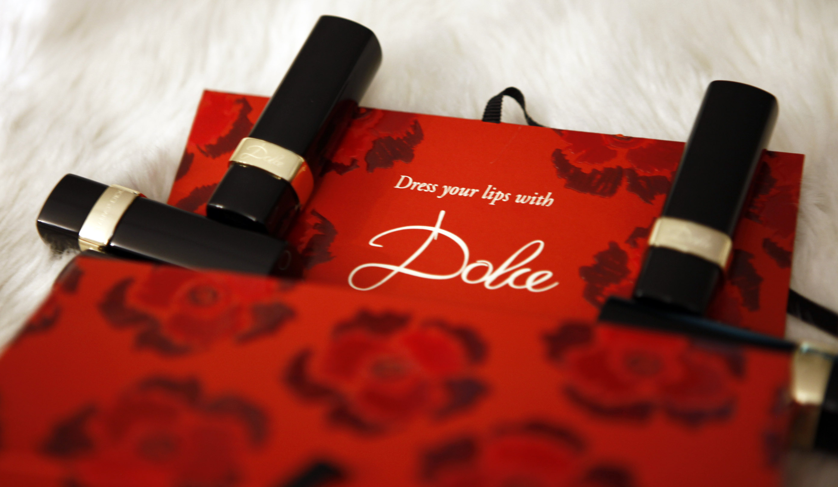 dress your lips with dolce