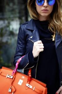 twin-set leather jacket