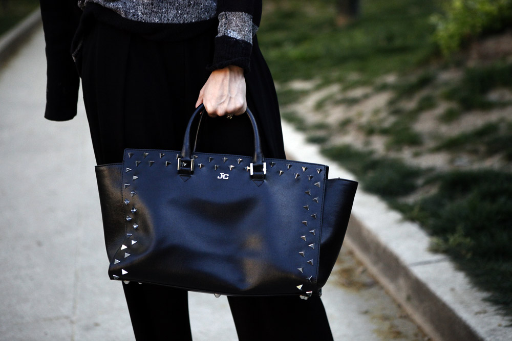 katy bag black