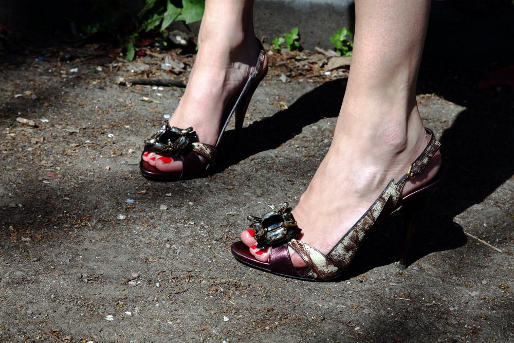 miu miu sandals with stones