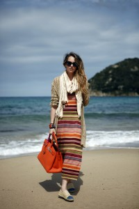 multicolor outfit