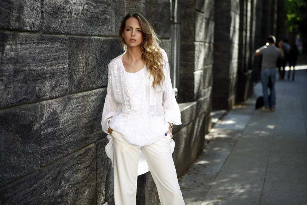 white total look summer 2015