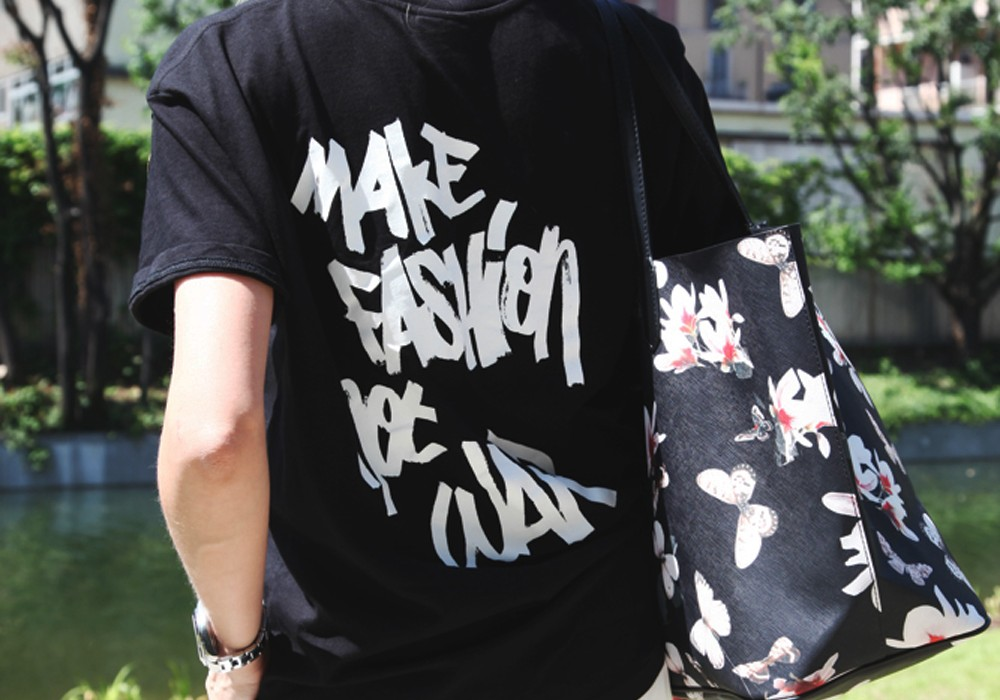 Make fashion not war