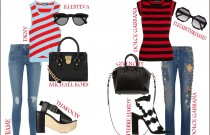 Red and Black stripes