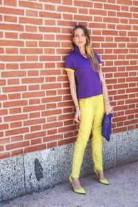 frankie morello yellow pants