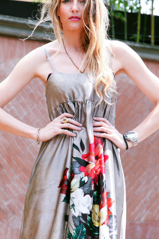 abito lungo da indossare ad un matrimonio