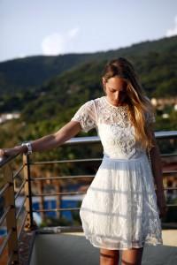 asos white dress summer 2015 bride