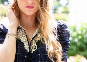 cartier gold necklace