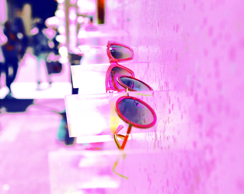 oxydo fucsia model sunglasses