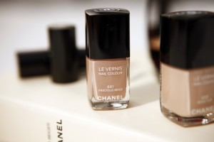 prescious beige chanel nailpolish