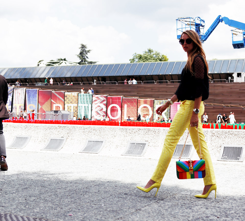 streetstyle at pitti colors 2015