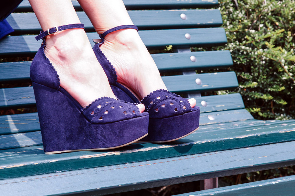 twin-set blue wedges summer 2015