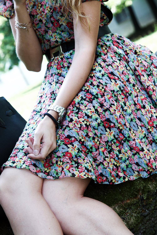 vestito a fiori estate 2015