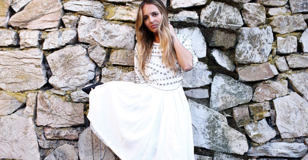 white asos summer dress 2015