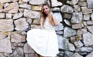white asos summer dress 2015
