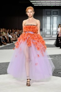 PARIS, FRANCE - JULY 06:  A model walks the runway during the Giambattista Valli show as part of Paris Fashion Week Haute Couture Fall/Winter 2015/2016 on July 6, 2015 in Paris, France.  (Photo by Pascal Le Segretain/Getty Images)