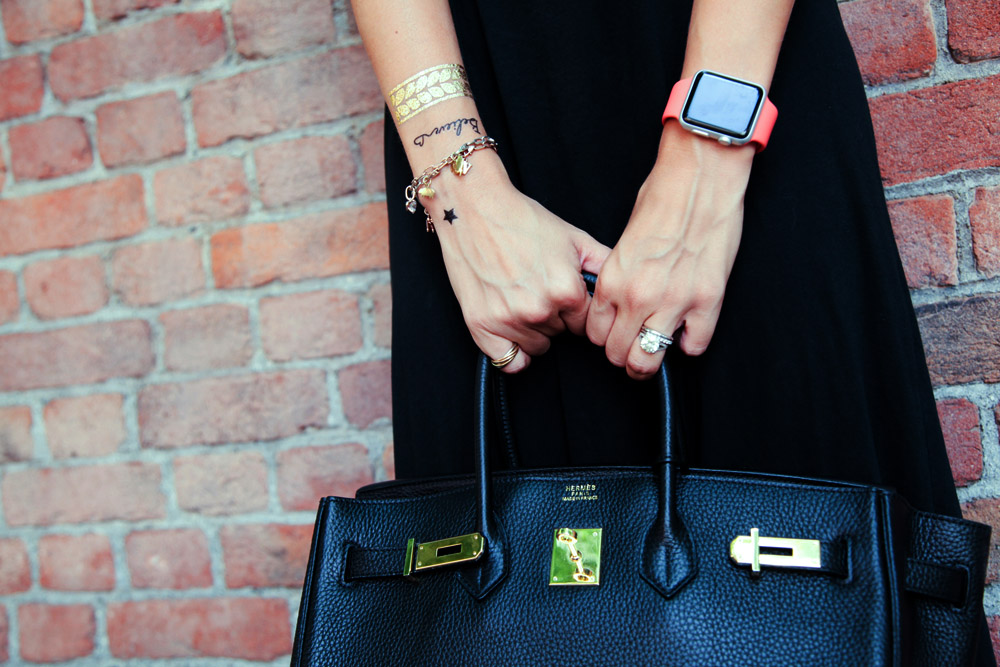 black birkin bag