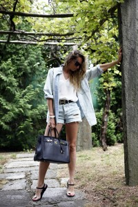 jeans high waisted shorts h&m