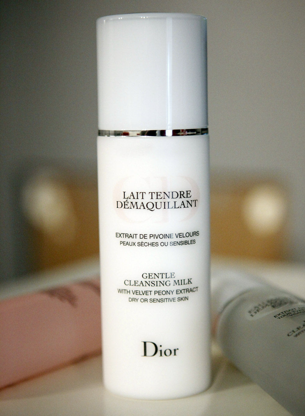 lait demaquillant christian dior
