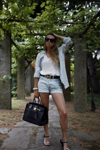 summer 2015 how to wear a denim total look