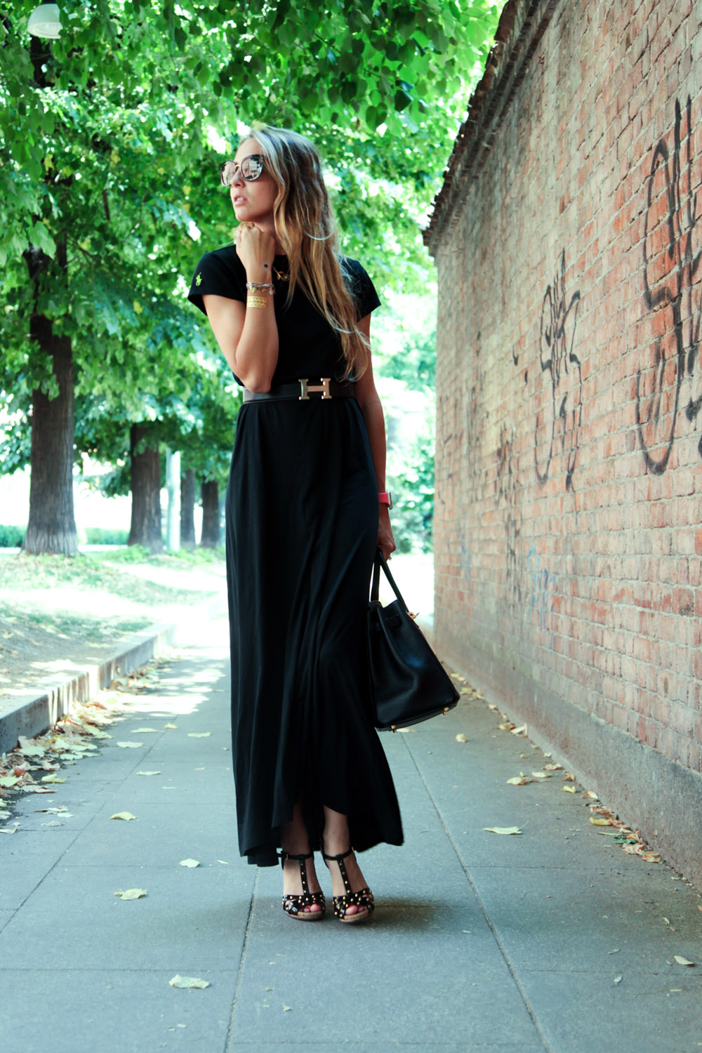 t-shirt long dress