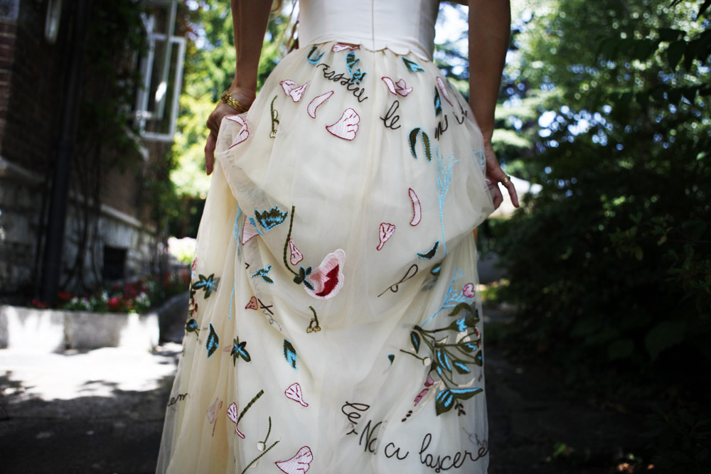 valentino dress details