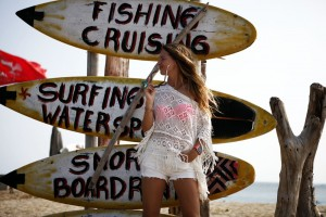 surfing look bali summer