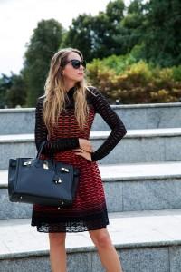 red dress m missoni