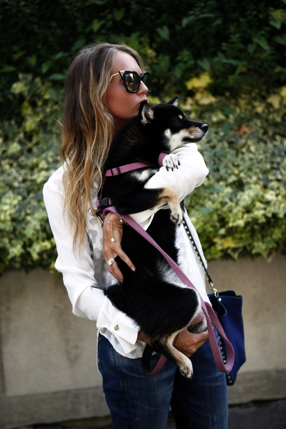 what to wear when you bring out your dog fashion look