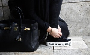 Eleven Paris shoes karl is my father