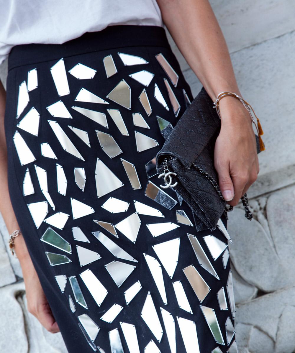 chanel bag mini black