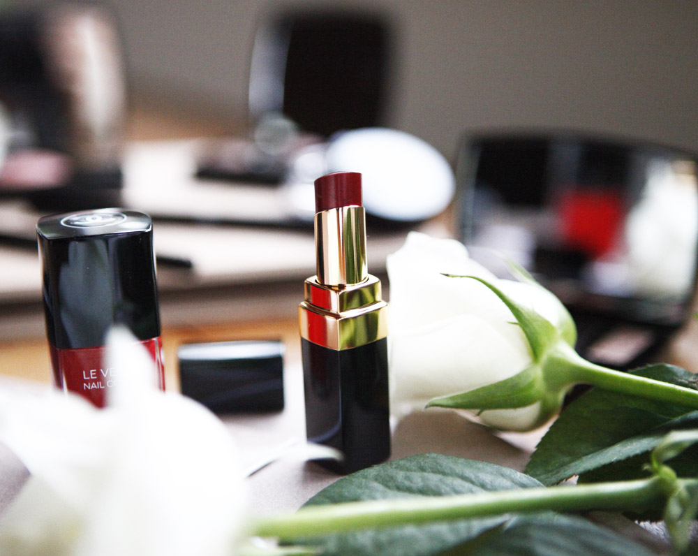 chanel rouge nailpolish allure
