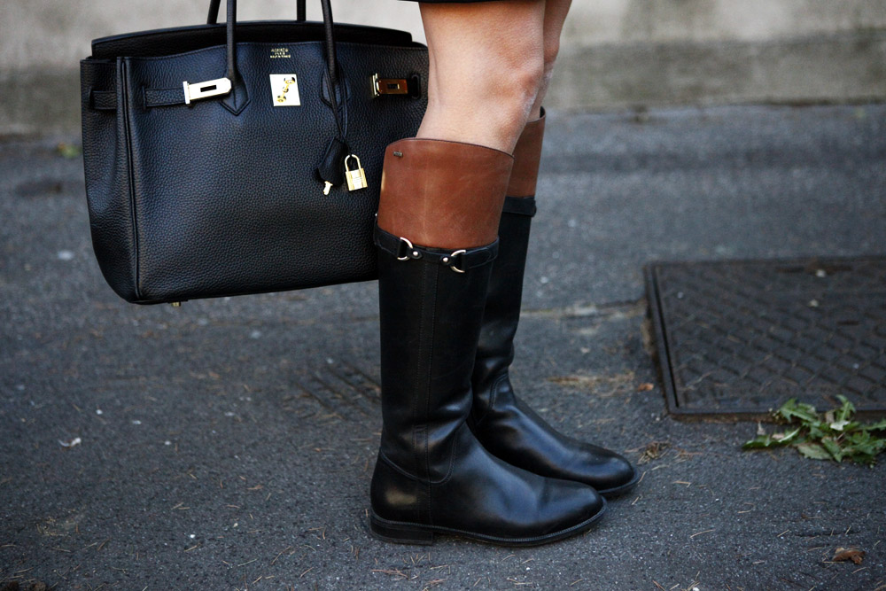 equestrian boots in daylife