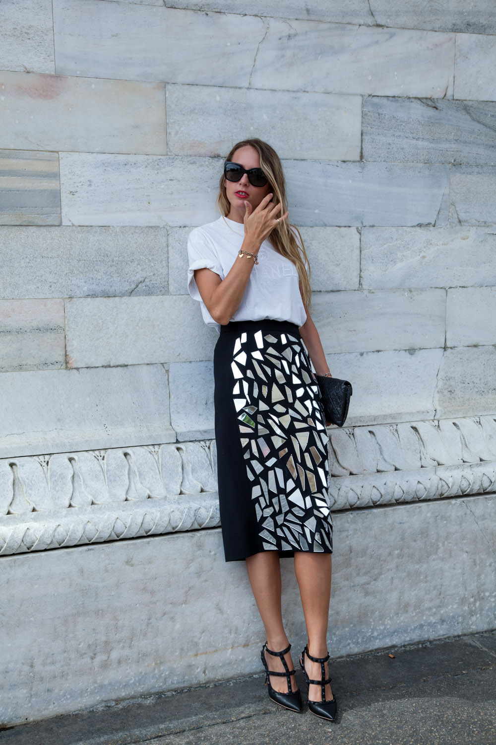 pencil skirt frankie morello