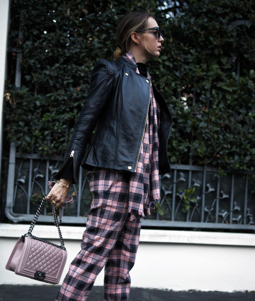 plaid pants fay winter 2015