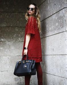 red dress winter 2016