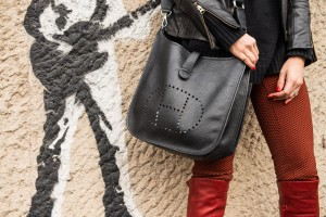 hermes black bag