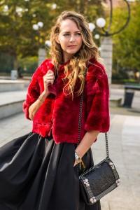 red fur christmas 2015