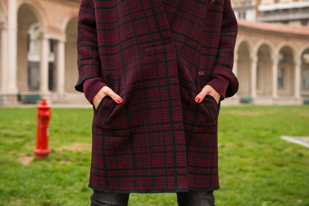 Luisa Spagnoli coat fall winter 2016