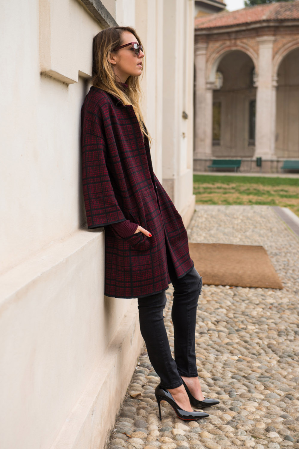 bordeaux coat for winter 2015